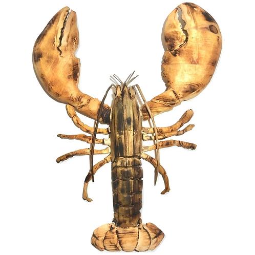 Full driftwood Lobster Sculpture