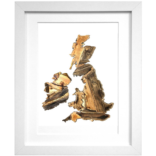 Driftwood United Kingdom Print