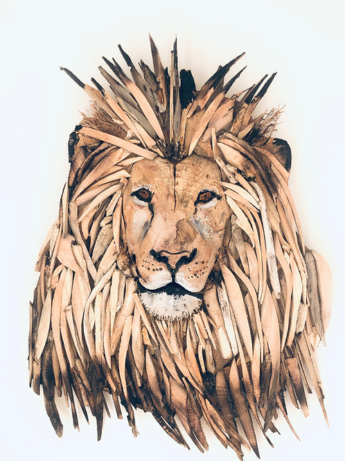 Driftwood 3D Lion