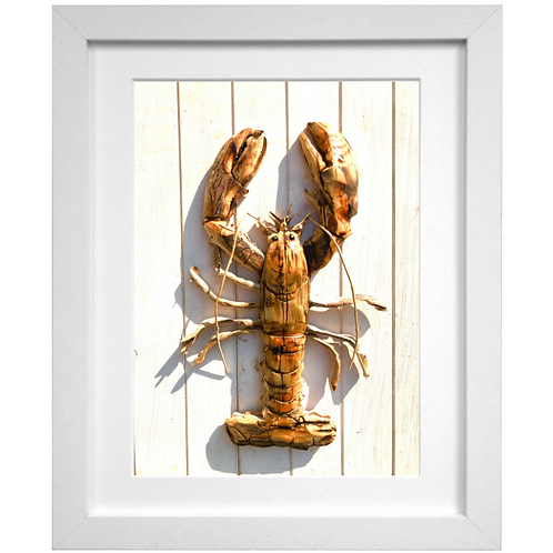 Driftwood Lobster Print