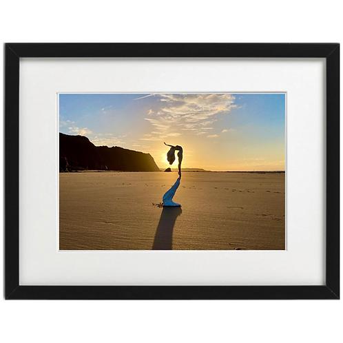 Follow Your Dreams - (Silhouette version) Ballerina Print