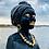 Thumbnail: Serenity - Wood Sculpture - African Woman - Beautiful Black Woman
