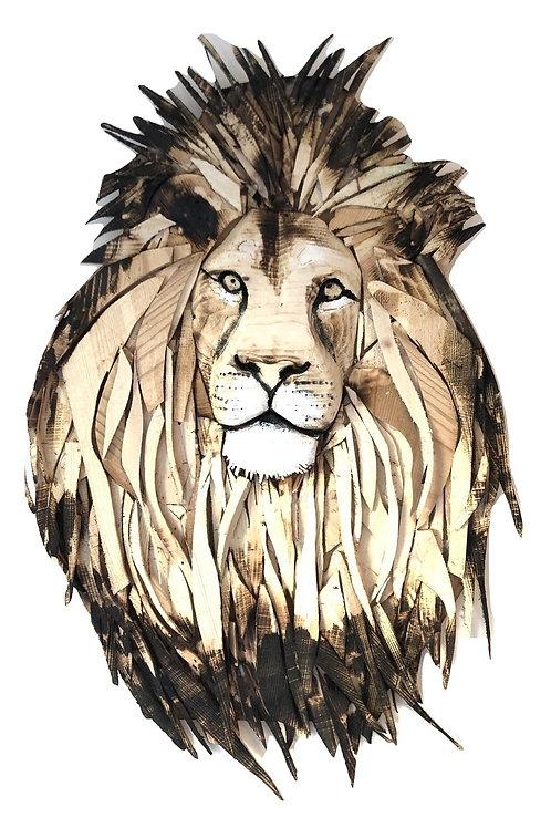 Stunning Driftwood Lion