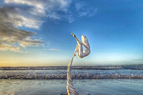 Falling In Love - Sculpture - Driftwood