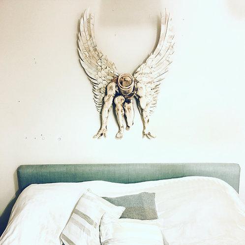 Driftwood Guardian Angel