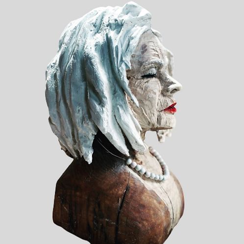'Grace' Sculpture, Bust.