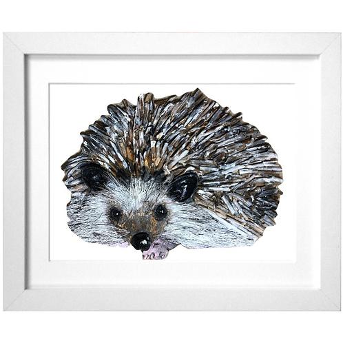 Driftwood Hedgehog Print