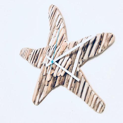 Seaside Starfish Clock