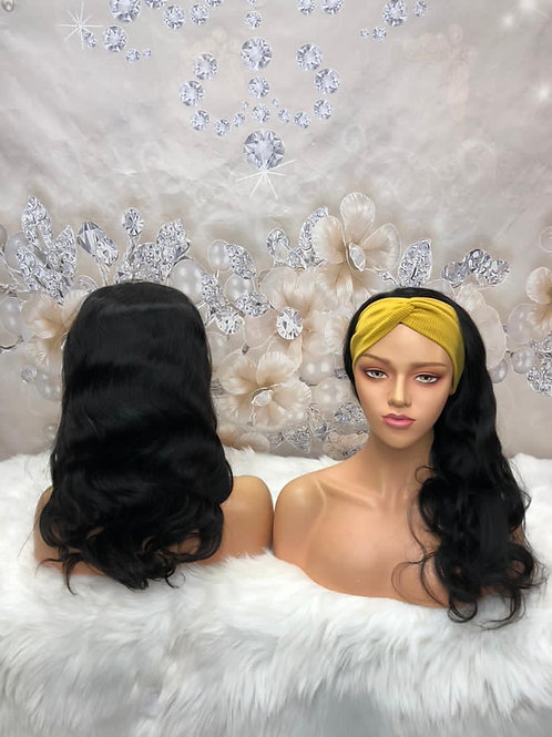 Body Wave Headband Wig (get free trendy headband)
