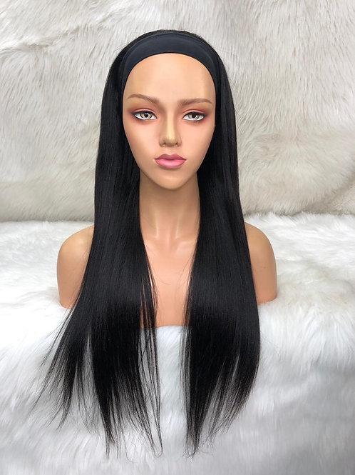 Straight Headband wig (get Free trendy headband)