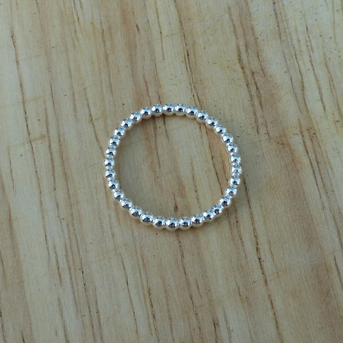 Beaded ring - made to order