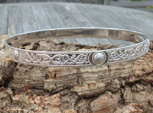 P0365 Sterling Celtic Pattern Bangle1