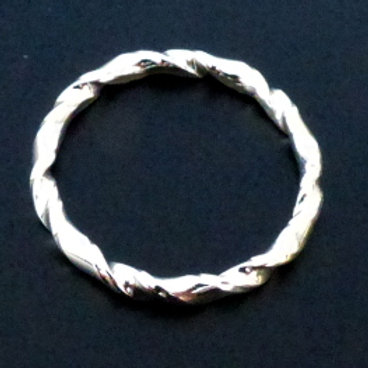 Sterling Silver Twisted Ring - made to order