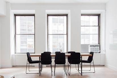 sala de entrevistas de emprego