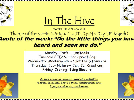 This week in The Hive - 1st March