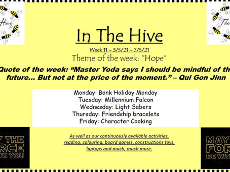This week in The Hive - 3rd May