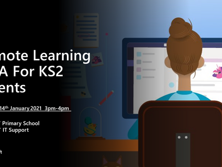 Remote Learning Q&A For KS2 Parents