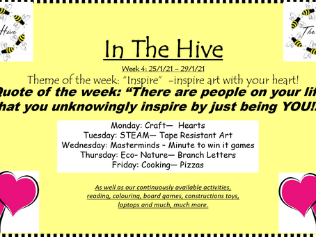 This week in The Hive - 25th January