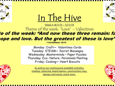 This week in The Hive - 8th February