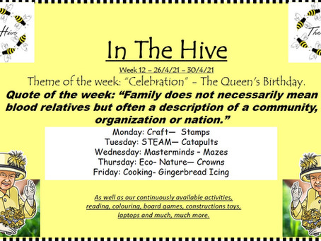 This week in The Hive - 26th April