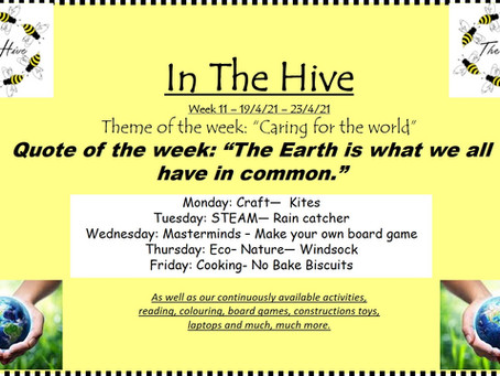 This week in The Hive - 19th April