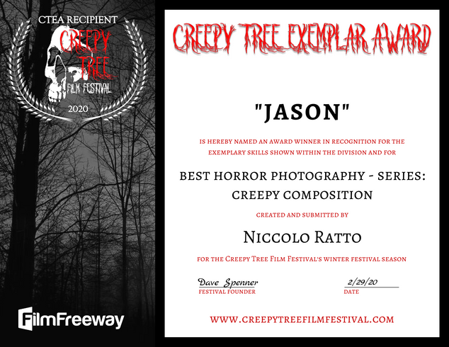 Creepy Tree Exemplar Award