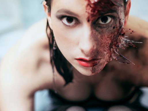 """""""Shattered Vision""""online! Happy Halloween!"""