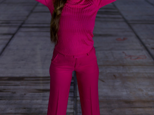 "Photoshoot ""Urban Pink"" online!"