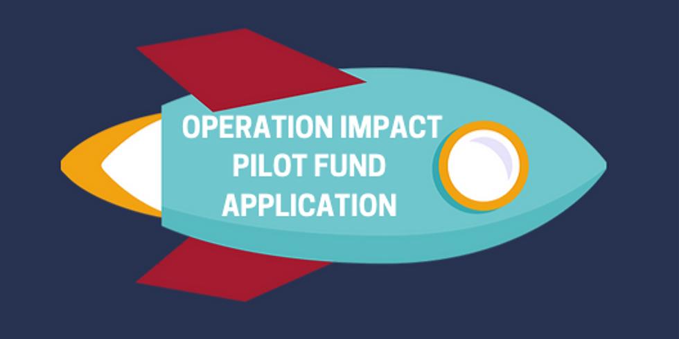 Pilot Fund Round Application - Round 3