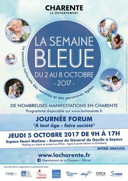 La Semaine Bleue Forum Soyaux 5/10/2017