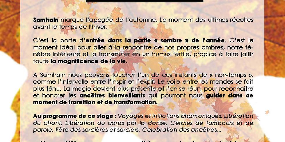 Samhain - Stage de Pratiques Chamaniques