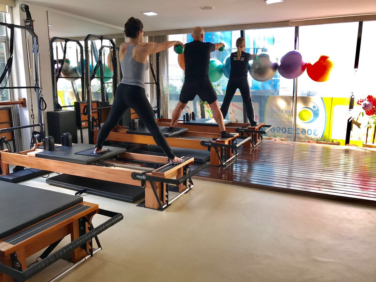 aula pilates reformer