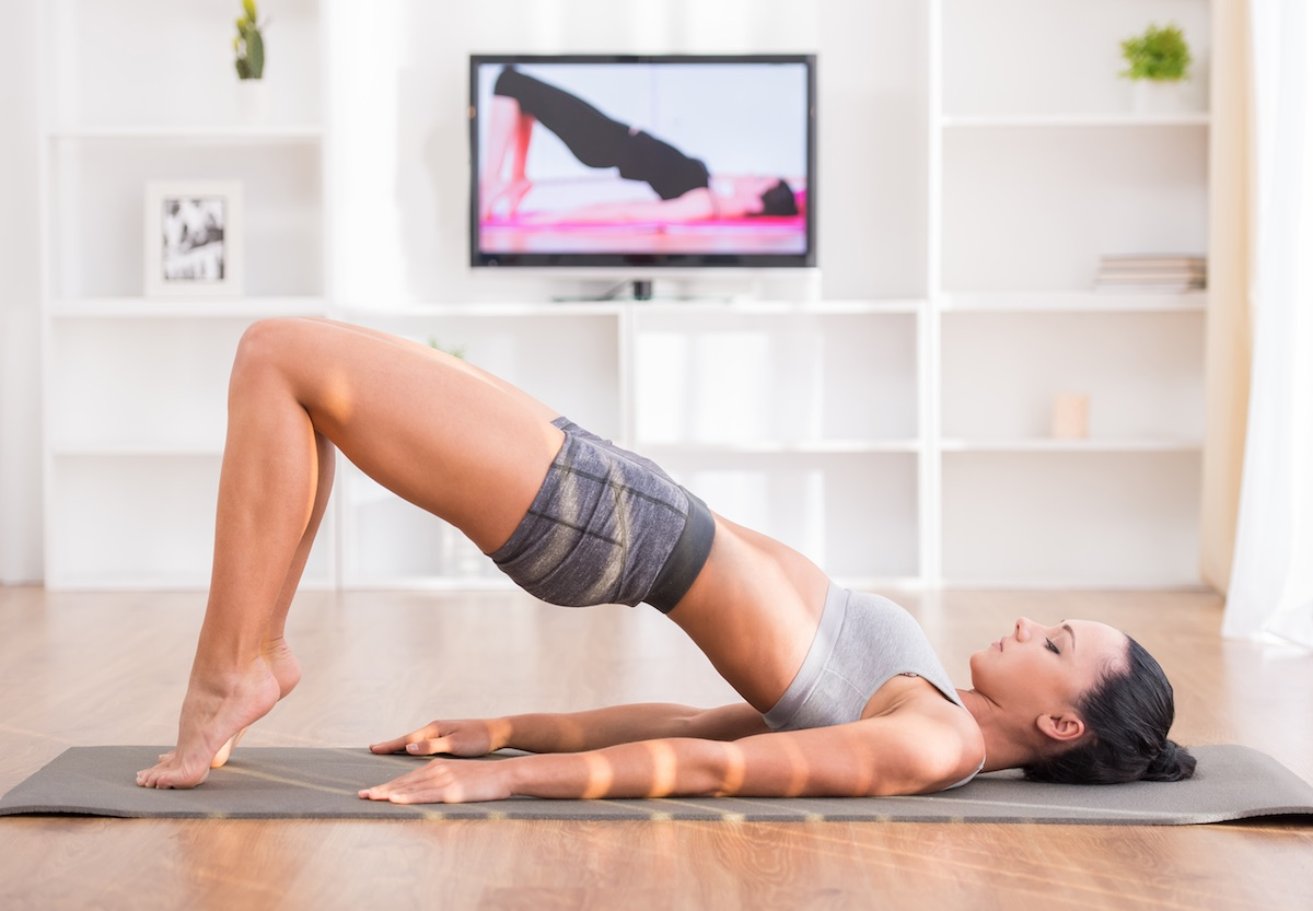 aula Pilates online 2