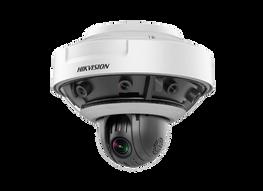 telecamera dome 4k hikvision