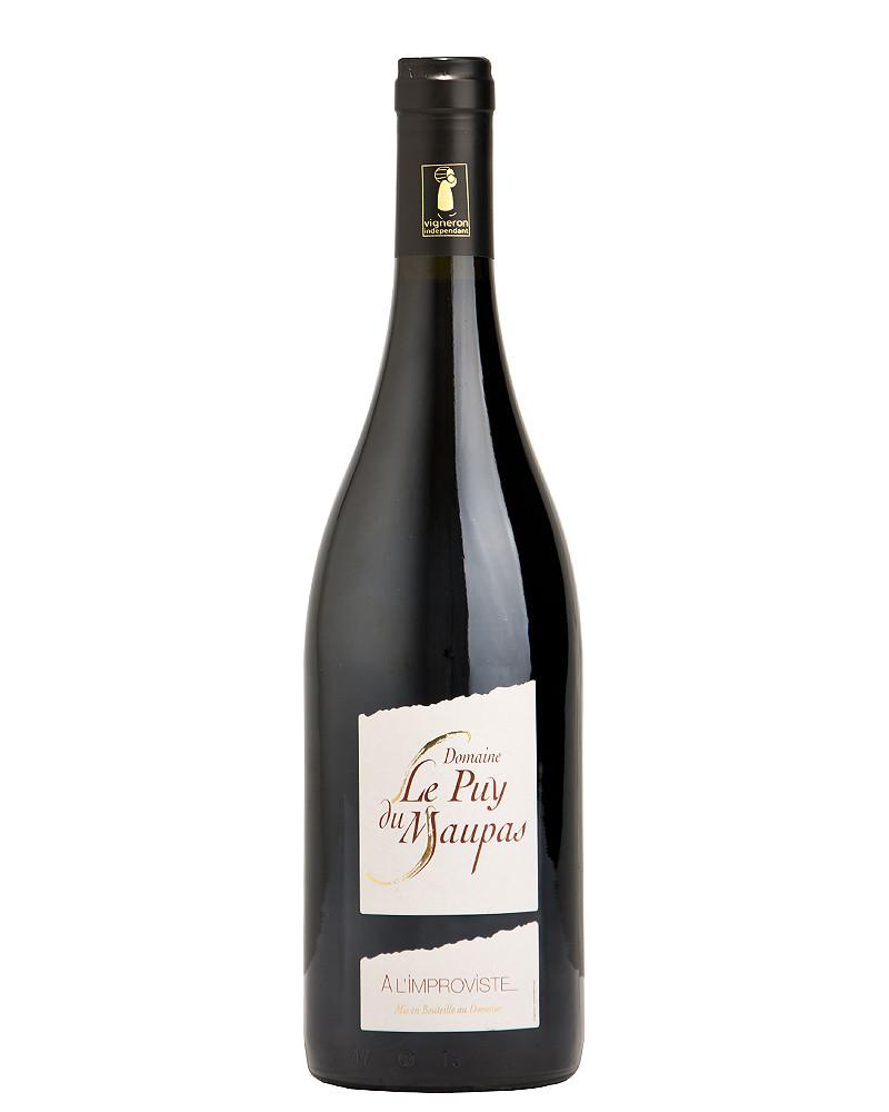 """"""" A l'improviste """" Côtes du Rhône Rouge - Domaine le Puy du Maupas"""