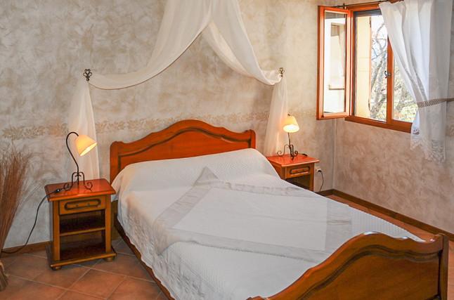 L'olivier - Chambre 2 personnes avec lit