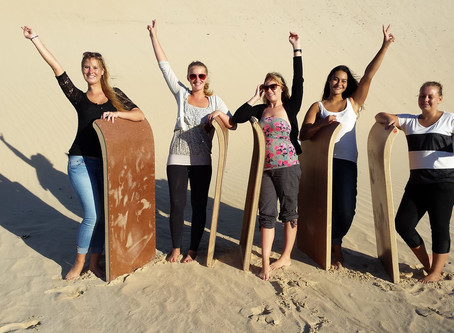 ADDO CRUISES AND SAND SLEDDING, A WEEKEND FILLED WITH FUN!