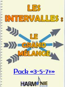 "LES INTERVALLES : LGM - PACK ""3-5-7+"""