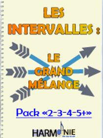 "LES INTERVALLES : LGM - PACK ""2-3-4-5+"""