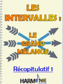 LES INTERVALLES : LGM - RECAPITULATIF 1