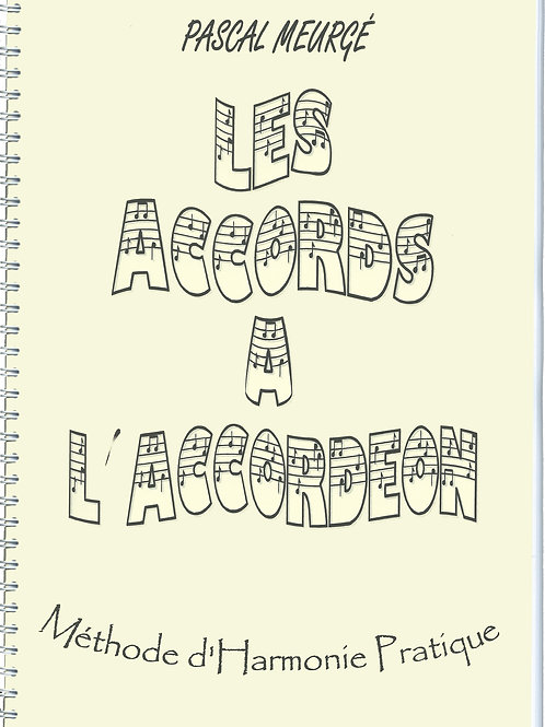 """les accords à l'accordéon"" - la méthode"