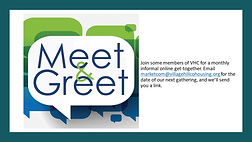 Permanent Virtual Meet and Greet banner.
