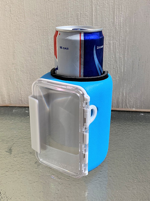 Fits Slim Cans and Bottles Only - Blue Kangaroozie