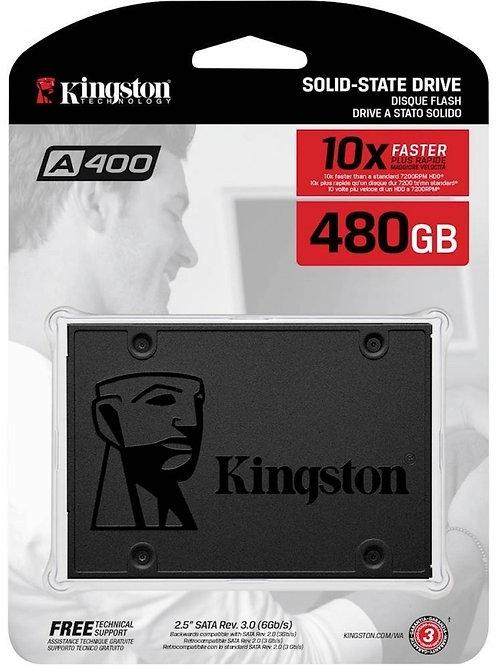 "Disco De Estado Solido (SSD) 480GB 2.5"" SATA III (6GB/s) Kingston A400"