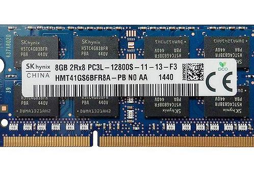 Memoria 8GB DDR3 PC3L-12800S 1600Mhz Hynix Para Portátil 1.35V Low Voltage