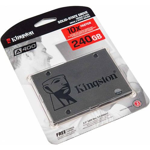 "Disco De Estado Solido (SSD) 240GB 2.5"" SATA III (6GB/s) Kingston A400"