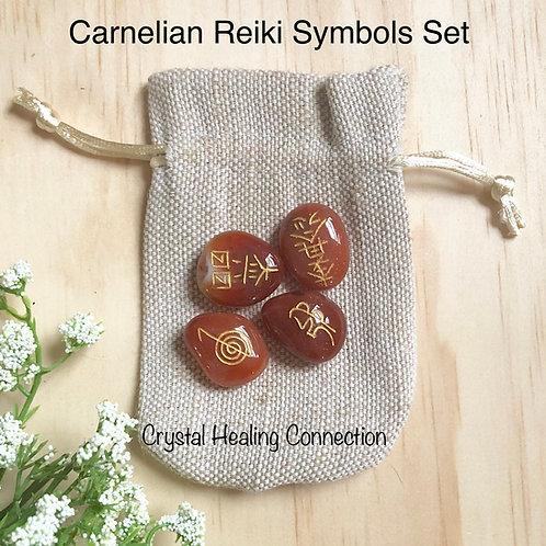 Carnelian Reiki Symbols Set