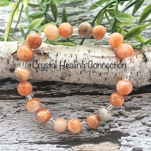 Orange Calcite Bracelets