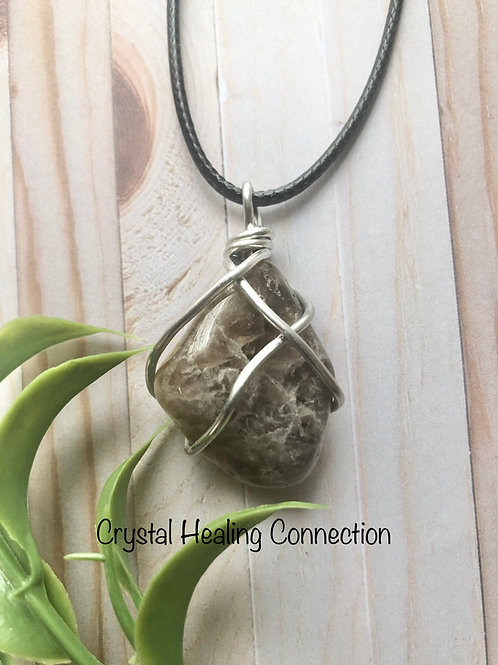 Super 7 Wire Wrapped Necklace