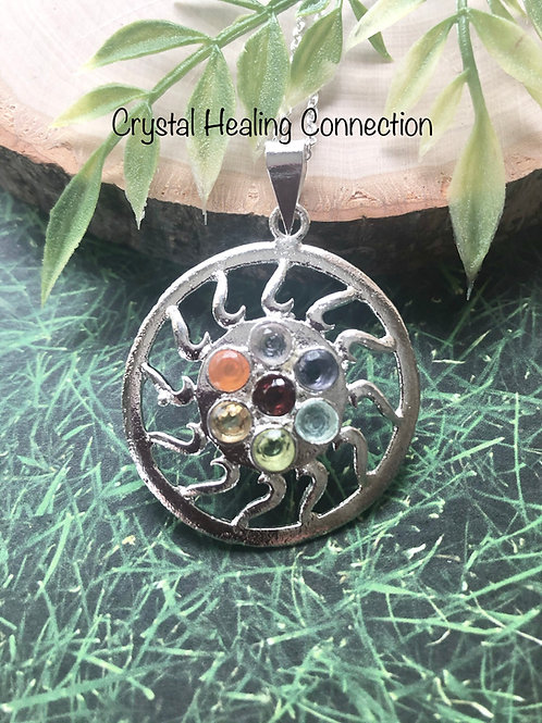 Chakra Sun Necklace